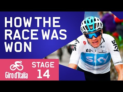 How The Race Was Won | Giro d'Italia 2018 Stage 14 Highlights | Cycling | Eurosport