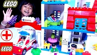 Mainan LEGO HOSPITAL 💖 LEGO Rumah Sakit 💖 Let's Play Jessica Jenica