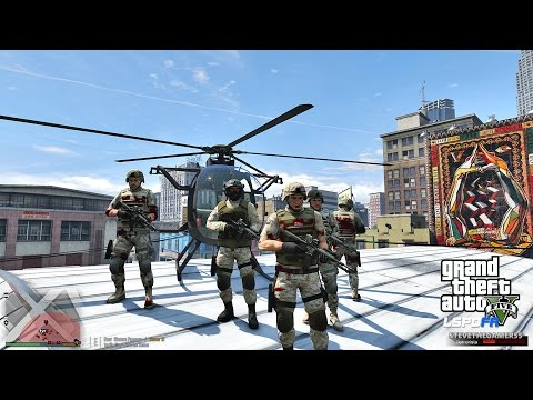 GTA 5 LSPDFR 0.3.1 - EPiSODE  238 - LET'S BE COPS - MILITARY PATROL (GTA 5 PC POLICE MODS)