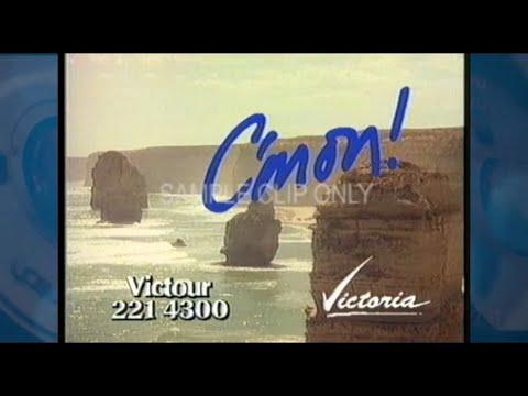 VICTORIAN TOURISM IMAGE CAMPAIGN  (BRIS METRO SELL VERSION) 1988
