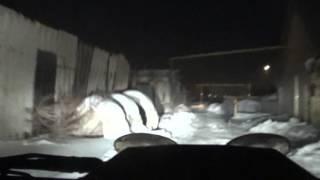 Погоня ГИБДД за грабителем в Челябинске