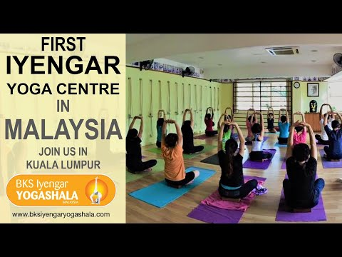 Bks Iyengar Yogashala First Iyengar Yoga Centre In Malaysia Youtube