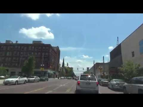 Tour of University of Michigan-Flint Campus and Surrounding Area
