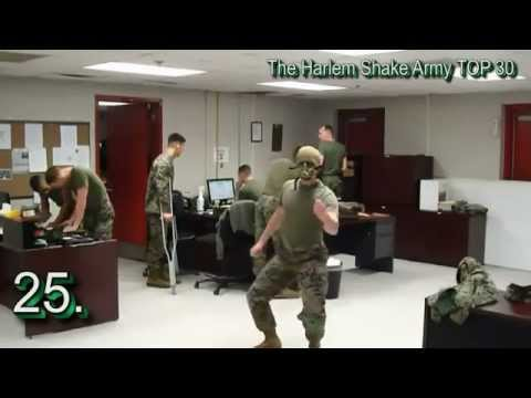 The Harlem Shake - Army TOP 30