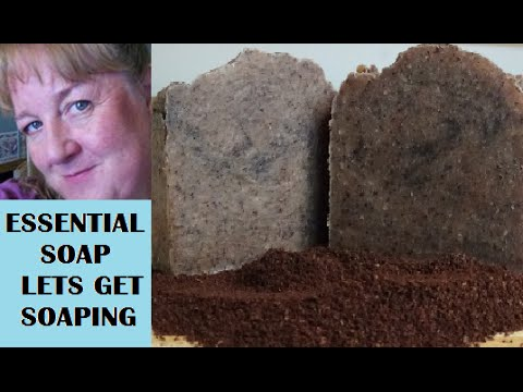 How to make Coffee Soap with recipe