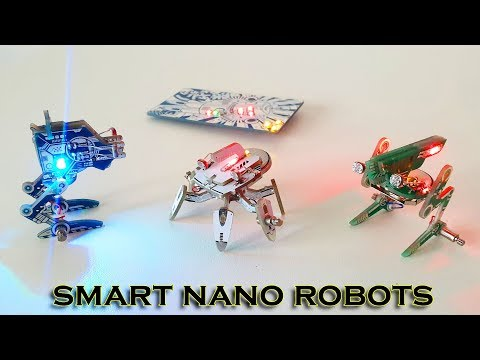 7 Smart Nano Robots - DIY Robotics Kit