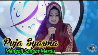 Puja Syarma Youtuber paling Cantik Mengaji Sangat Merdu Surah Al Ahzab 21 24