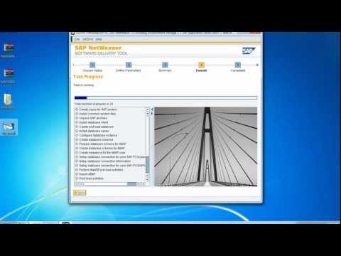 Install SAP Netweaver 7.02: SAP Tutorial (Part 1)