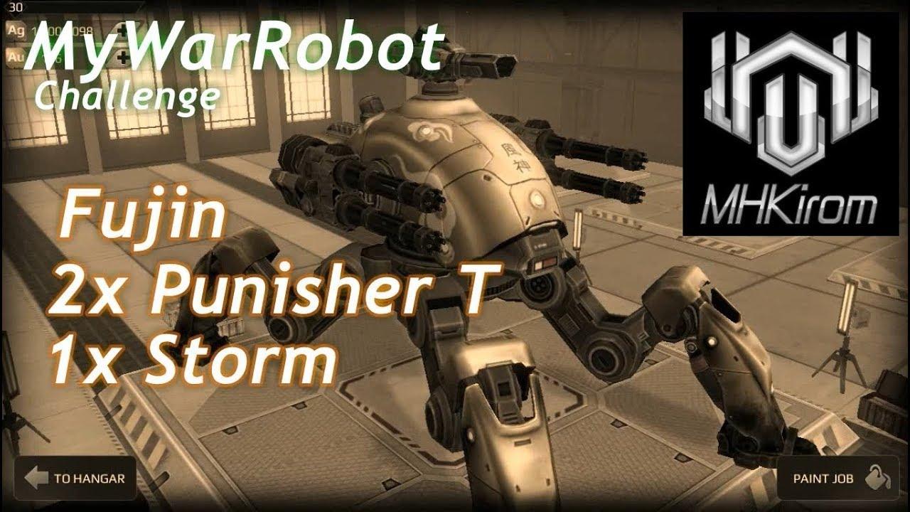 War Robots - #MyWarRobot Challenge, Fujin Punisher Storm ...