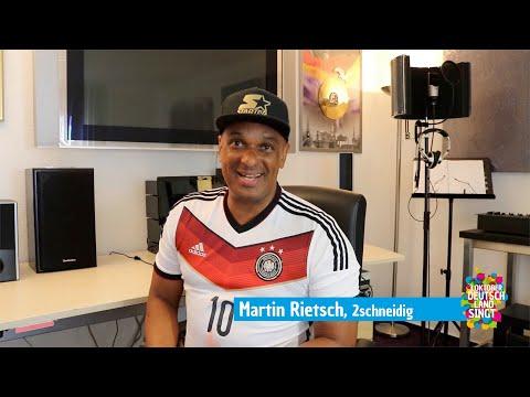 Martin Rietsch aka 2schneidig ist für 3. Oktober – Deutschland singt am Start in Hannover!