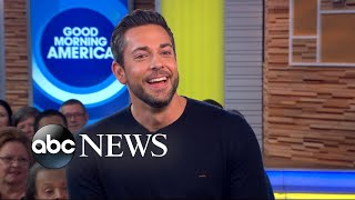 'Shazam!' star Zachary Levi celebrates his first time on 'GMA'