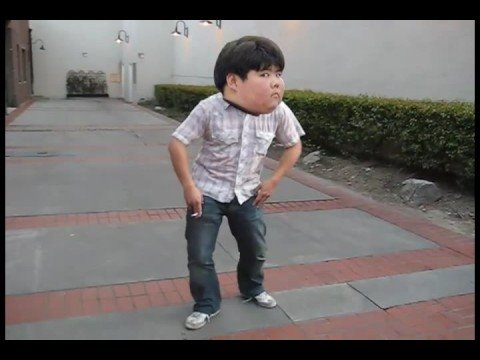 Fat Asian Kid Dancing To Phil Collins Sussudio