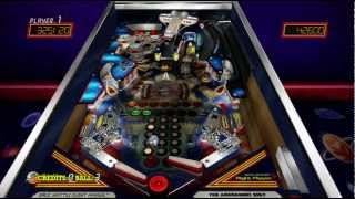 Space Shuttle Pinball Hall of Fame: The Williams Collection Xbox 360 gameplay 720P