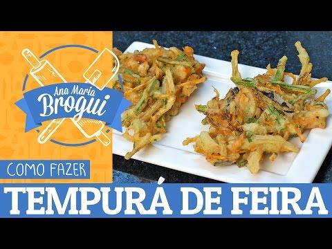 COMO FAZER TEMPURÁ DE FEIRA | Feat. Pyong Lee | Ana Maria Brogui #328