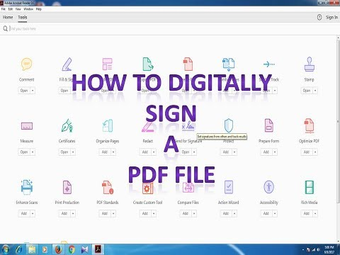 How to Digitally Sign a PDF file by DSC