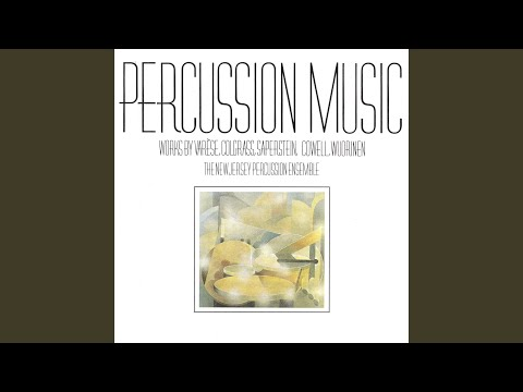 Charles Wuorinen: Percussion Symphony (1976) ; Entr