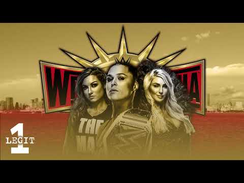 "WWE WrestleMania 35 (2019) - ""Work"" [Loop Made By Me] - (Official Theme Song) ᴴᴰ"