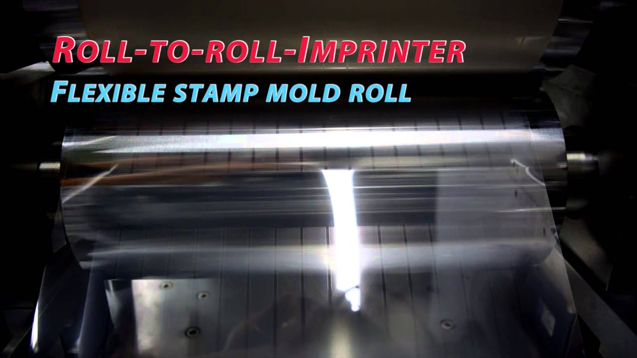 Rip 300 Roll To Roll Imprinting System Youtube