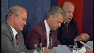 Ny Demokrati i slutdebatt valet 1991, del 3 av 4.