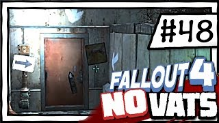 Parking Garage Maze [48] Fallout 4 NO VATS | SURVIVAL DIFFICULTY PLAYTHROUGH