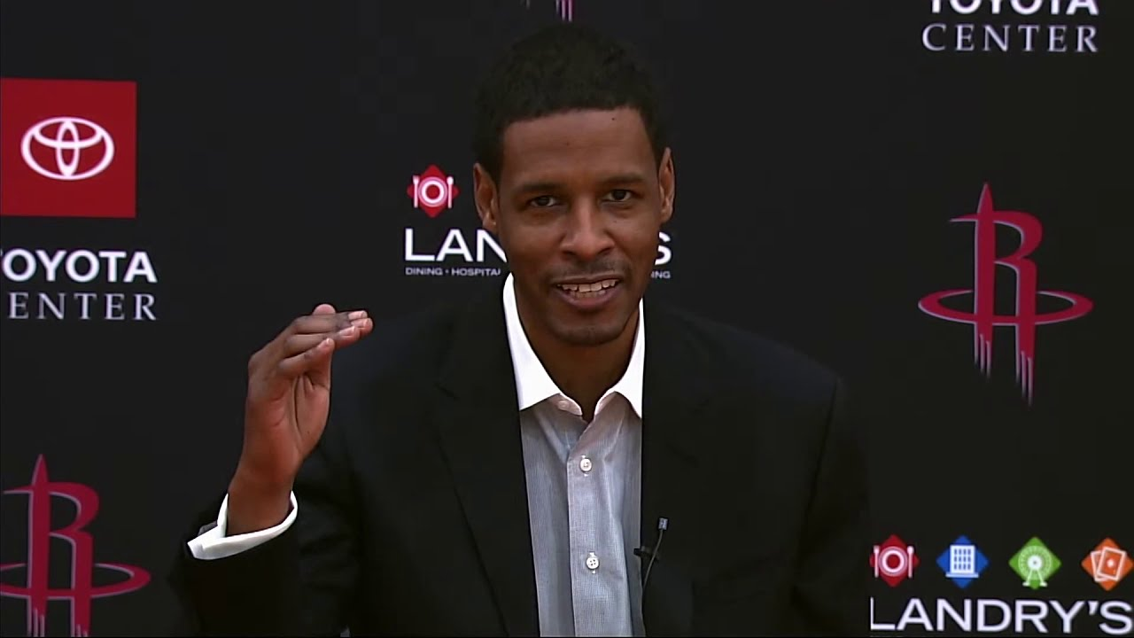 Houston Rockets Head Coach Stephen Silas Introductory Press Conference