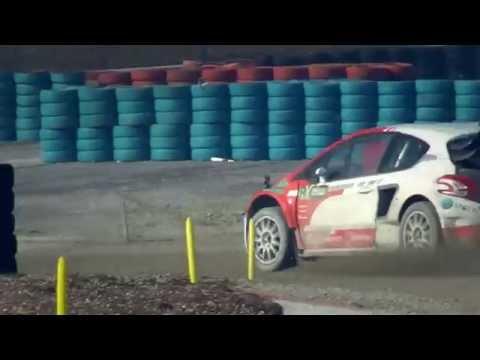 Ex-F1 racer Petrov samples Albatec Racing 600bhp Peugeot Rallycross Supercar