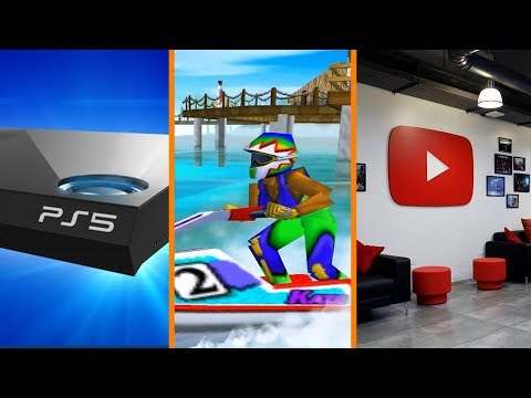 More PS5 News + Wave Race for Switch + YouTube Ignores Small Creators