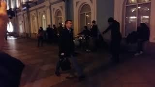 Невский проспект, уличные музыканты