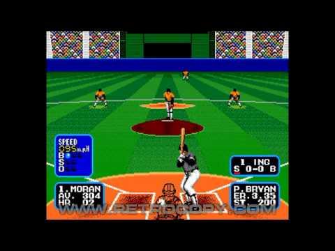 Tommy Lasorda Baseball Sega Genesis Mega Drive Intro