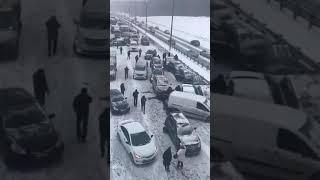 Смотреть видео Авария Москва онлайн