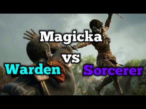 Magicka Warden vs Magicka Sorcerer 1v1 [IAssassins] Pvp Duels