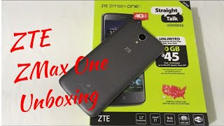ZTE ZMax One Unboxing & First Impressions
