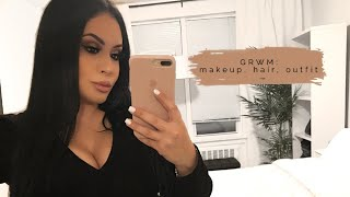 Get Ready With Me - Glam Makeup Tutorial, Hair & Outfit | RositaApplebum 2020