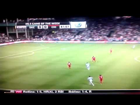 Cow scores on Chicago at Sporting Kansas City Game
