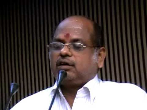 Sivananda Sastry Speech