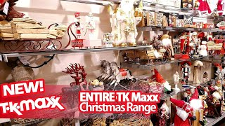 ENTIRE TK MAXX CHRISTMAS DECORATIONS 2019, TK MAXX Shop With Me, TK Maxx Shopping UK