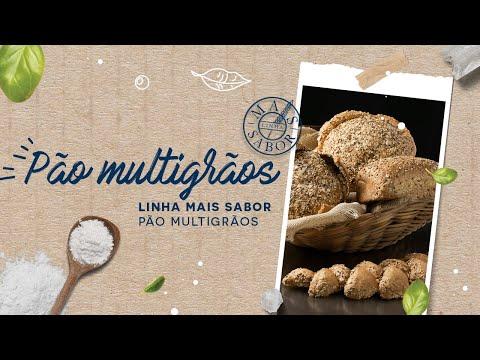 Pão Multigrãos — Linha Mais Sabor Pão Multigrãos