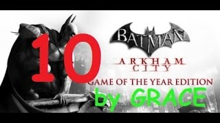 BATMAN ARKHAM CITY gameplay ITA EP 10 LA LEGA DEGLI ASSASSINI by GRACE