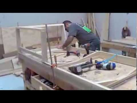 Sofa Frames For Upholstery Convertible Bunk Bed Uk The Making Of A Quality Wood Furniture Frame Youtube Westside Custom