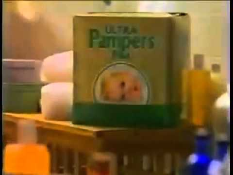 Dr. David Zucker Pampers Commercial 1989