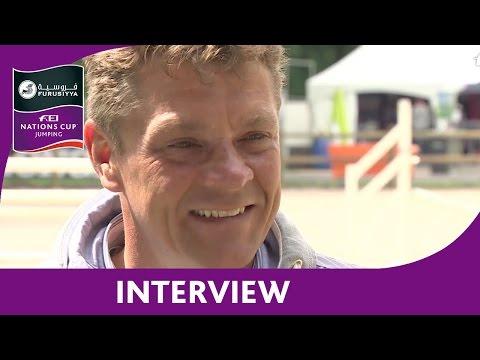 Jeroen Dubbeldam - Interview - Furusiyya FEI Nations Cup™ Jumping 2015 - Rotterdam
