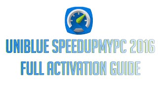 Uniblue - SpeedUpMyPC 2016 Full Activation Guide Free + Serial Key