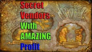 Secret Vendors in World of Warcraft for Huge Profit!
