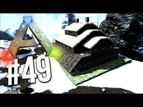 Ark Survival Evolved - SNOW BASE BUILD! SNOW BIOME BASE! EP
