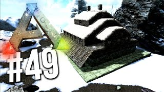 Ark Survival Evolved - SNOW BASE BUILD! SNOW BIOME BASE! EP 49 (Ark Survival Evolved Building)