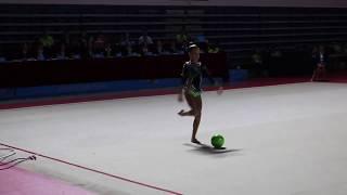 VII Российско-Китайские игры (Дария Сергаева-мяч)