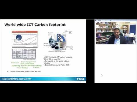 Overview of IEEE Green ICT Initiative Standards Webinar