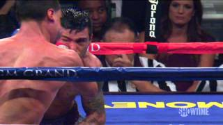 Lucas Matthysse Knocks Out Danny Garcia's Mouthpiece | SHOWTIME Boxing