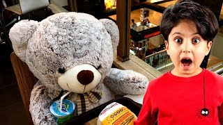 SADO OYUNCAK AYISI TEDDY CANLANDI KAÇTI !! Teddy Bear Escaped - Funny Video for Kids