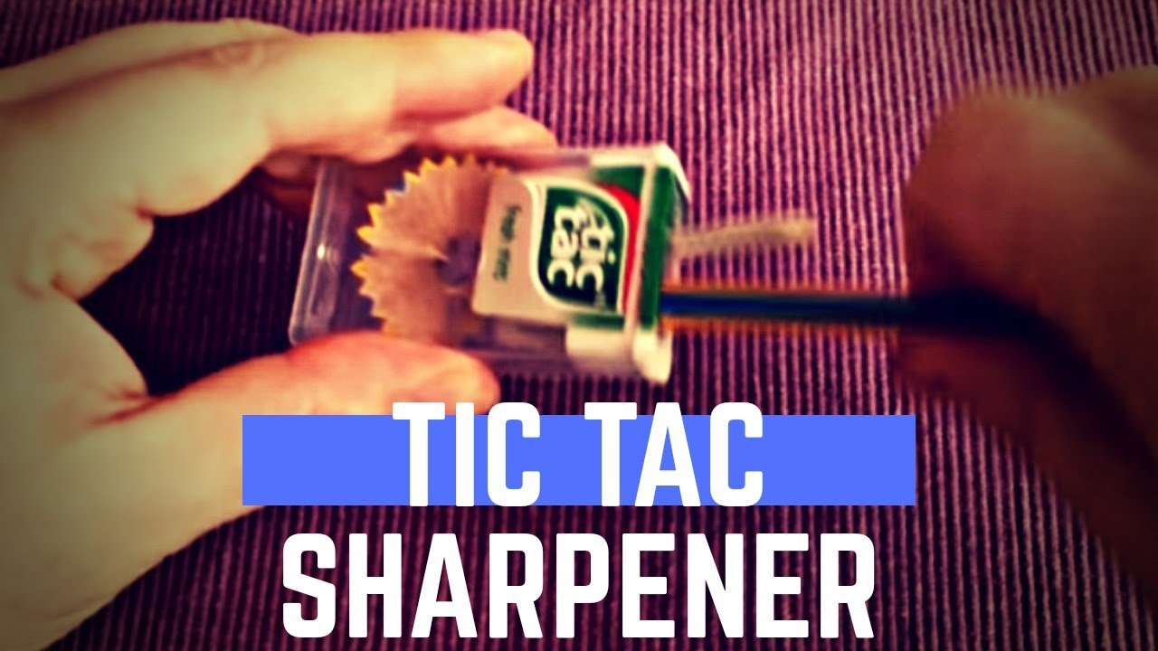 diy pencil sharpener container youtube